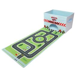 Livememory Cars Kids Toy Storage Box Play Mat Toys Storage B