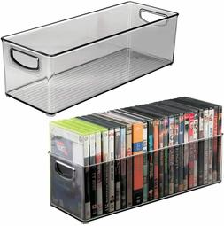CD Storage Rack Box Holder Disk Case Media Display Space Sto