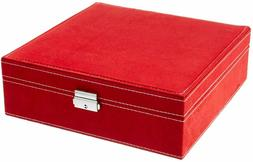 KLOUD City Two-Layer lint Jewelry Box Organizer Display Stor