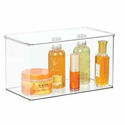 InterDesign Clarity Storage Box Organizer for Beauty Product