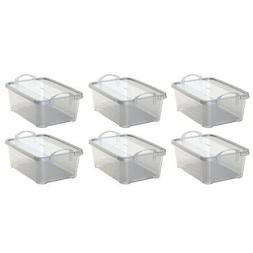 clear closet organization storage container