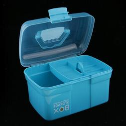 clear plastic storage box case tray