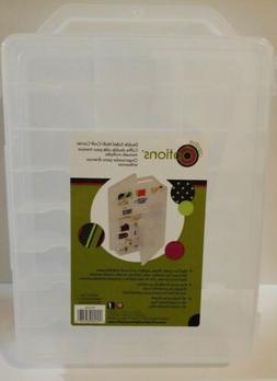 Clear Design Transparent Durable Molded Plastic Thread Organ