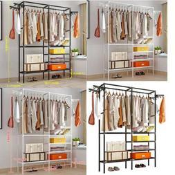 Closet Organizer Shelves System Kit Shelf Rack Clothes Stora