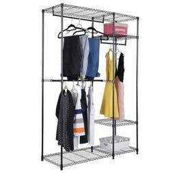 closet system storage organizer garment rack clothes