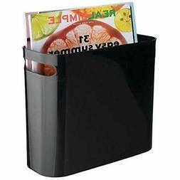 MDesign Closet Systems Plastic Storage Organizer, Holder Bin