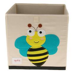 Cloth Storage Bins Foldable Cubes Box Basket Playroom Kids B