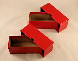 "COIN STORAGE BOX - Holds 2 x 2 COIN FLIPS + HOLDERS - 5"" LON"
