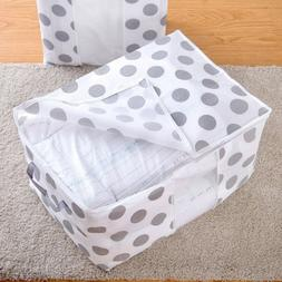Color Collapsible Storage bag Clothes Quilt Blanket Quilt Sw