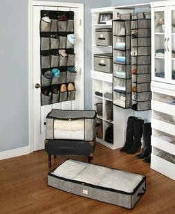 Complete Closet Organization System Storage Boxes Hanging St
