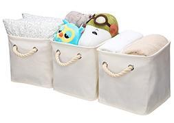 StorageWorks Storage Cube Organizer Bin With Strong Cotton R