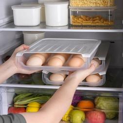 Creative Kitchen Stacked Auto Scrolling Egg Holder Storage B