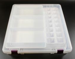 ArtBin Cricut Cartridge Overlay Clear Storage Tote Box
