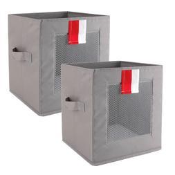 Livememory Cube Storage Bins, Foldable Storage Cubes Fabric