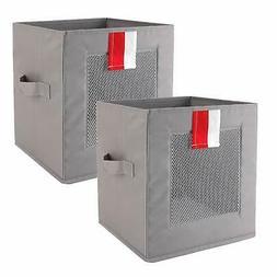 Livememory Cube Storage Bins Foldable Storage Cubes Fabric B