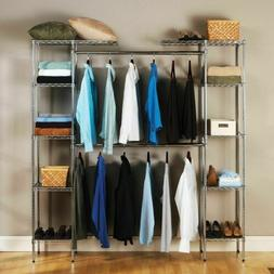 custom closet organizer shelves system kit expandable
