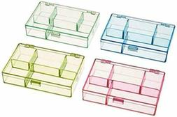 Darice 1156-73 3-1/2-Inc by 4-1/2-In by 1-In Neon Plastic Or