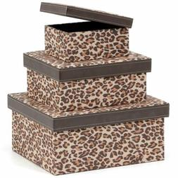 Decorative Storage Boxes Cardboard Nesting Gift Storage Box