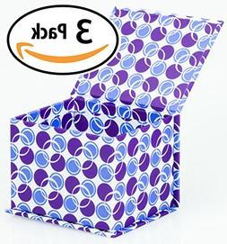 Designer Magnetic Closure Gift Box 4 x 3.5 x 3, Pack of 3 -