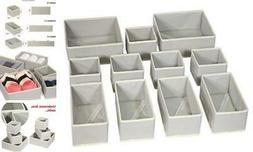 DIOMMELL Foldable Cloth Storage Box Closet Dresser Drawer Or
