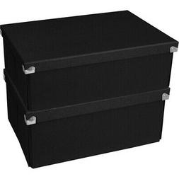 Document Storage Box Space Saving Collapsible Box System Flo