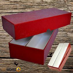 DOUBLE ROW 2x2 STORAGE BOX FOR PLASTIC & CARDBOARD FLIPS