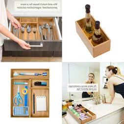 Drawer Organizer Storage Box Bathroom Living Room Kitchen Ba