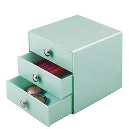 InterDesign 3 Drawer Storage Organizer Mint Mint Set of 1