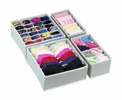 Drawer Storage Organizer Underwear Closet Divider Foldable S