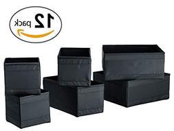 Ikea Skubb Drawer Storage Organizer's Black