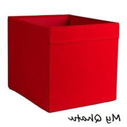 Ikea Drona Storage Box Organizers Red Fits/ Kallax NEW 203.8