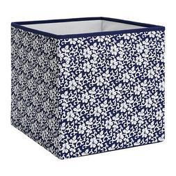 Ikea Drona Storage Organizer Box Floral Pattern Fits in Kall