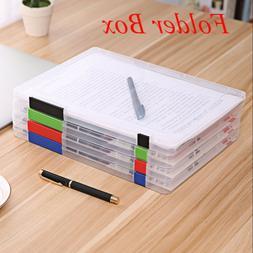 durable a4 school transparent file folder paper
