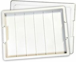 "Elizabeth Ward Bead Storage Tray 1 Pack White – 13 ¾"" X"