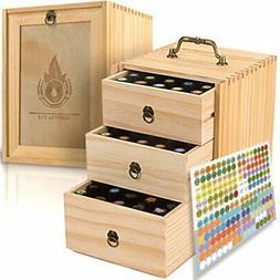 essential oil box wooden storage case