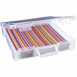 ArtBin Essentials Storage Box with Handle- 12 by 12-Inch Art