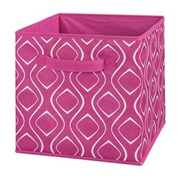 ClosetMaid Fabric Drawer, Fuschia Diamond