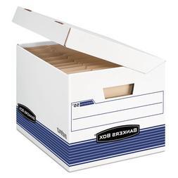 FEL0005502 - Bankers Box FastFold Flip Top File Storage Box