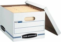 Fellowes Bankers Box Stor/File Corrugated File Storage Boxes