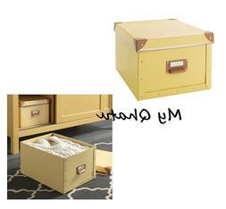 "IKEA Fjalla Storage Box with Lid 10 3/4"" x 14 1/4"" x 7 3/4"""