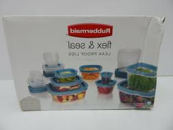 Rubbermaid Flex & Seal Food Storage Container Set with Easy