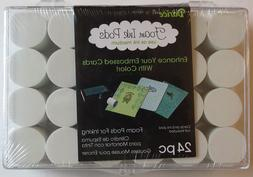 Darice Foam Ink Pods 24/Pkg-Foam Pods In Clear Plastic Stora