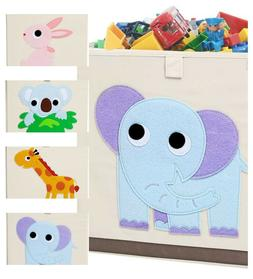 Foldable Animal Toy Storage Bins/Cube/Box/Chest/Organizer fo