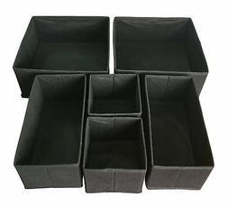 Foldable Closet Cube Storage Cloth Divider Organizer Basket