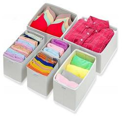 foldable cloth dresser drawer organizer drawer divider