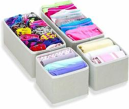 Foldable Cloth Storage Box Closet Dresser Drawer Divider Org