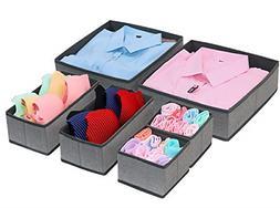 Foldable Cloth Storage Box Closet Dresser & Drawer Organizer