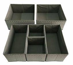 Foldable Cloth Storage Box Closet Dresser Drawer Organizer C