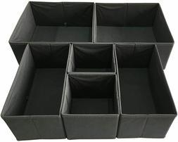 Sodynee Foldable Cloth Storage Box Closet Dresser Drawer Org