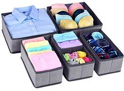 Homyfort Foldable Cloth Storage Box Closet Dresser Drawer Or